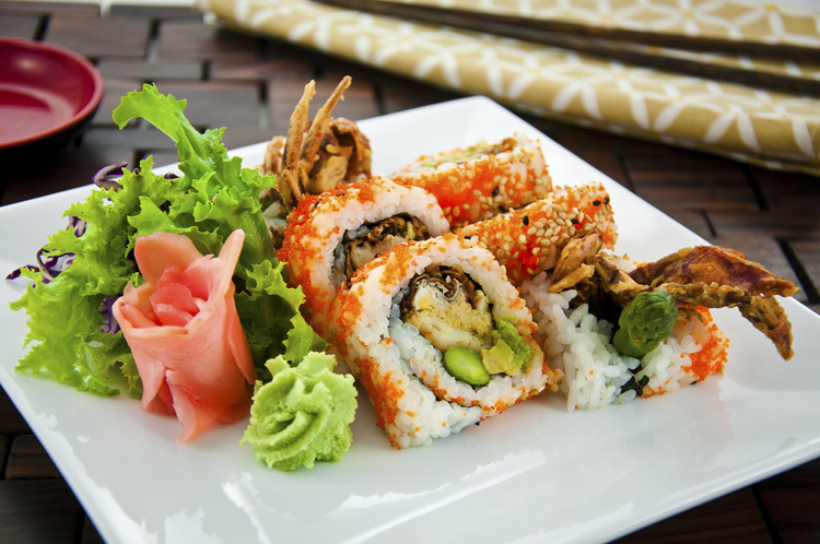spirder roll 8pcs sushi village ottawa on